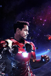 720x1280 Iron Man Vs Thanos The Final Battle
