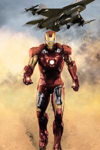 Iron Man Walking