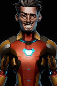 Iron Man Weird Smile