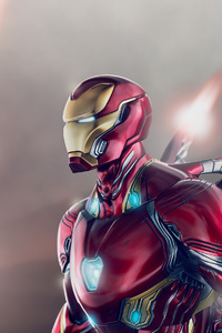 1440x2960 Iron Man Wing Suit 4k