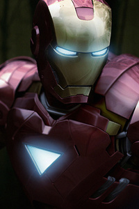 1080x2280 Iron Man2019art