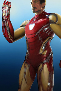 540x960 Iron Man4k 2020 Artwork