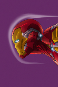 1080x2280 Iron Man4k Artwork