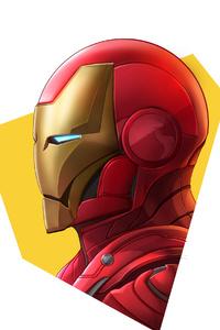 480x800 Iron Man4kminimal