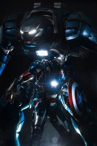 640x960 Iron Patriot Man
