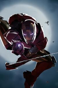 Iron Spider 4k
