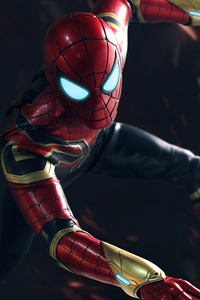 480x800 Iron Spider 5k