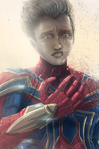 480x800 Iron Spider Art