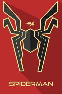 Iron Spider Infinity War Logo
