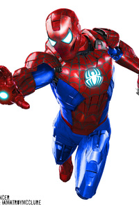 Iron Spider Man Suit