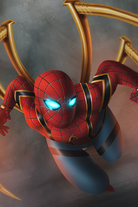 Iron Spiderman Artwork