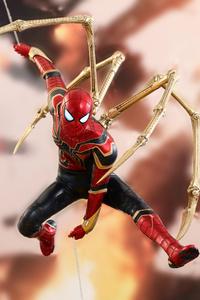 Iron Spiderman Suit 4k