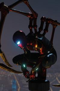 1440x2960 Iron Spiderman Suit Spiderman Ps4
