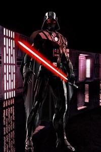 Iron Vader Lightsaber