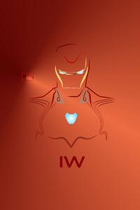 1280x2120 Ironman Avengers Infinitywar Fanart 4k