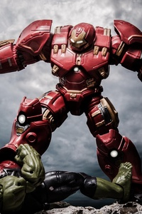 Ironman Hulkbuster Vs The Hulk