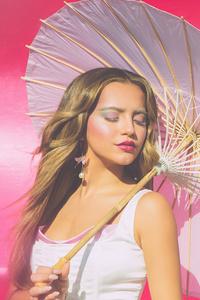 320x568 Isabela Merced Galore Magazine 4k