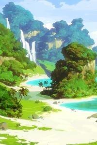 480x854 Island 5k