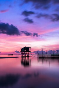 1080x1920 Island Sunrise