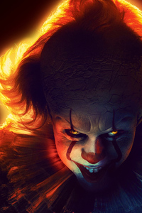 240x320 It Chapter Two 2019 4k Pennywise
