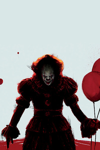 1080x2280 It Chapter Two 2019 Movie 4k