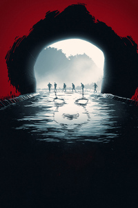 1080x2160 It Chapter Two 2019 Poster
