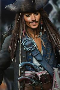 Jack Sparrow Fanart 4k
