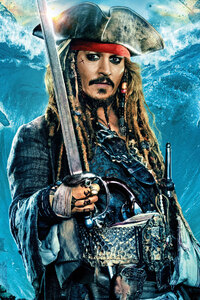 Jack Sparrow In Pirates Of The Caribbean Dead Men Tell No Tales