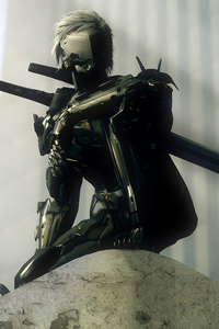 Jack The Ripper Metal Gear Rising 4k