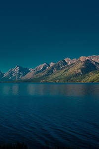 Jackson Lake In Wyoming 5k