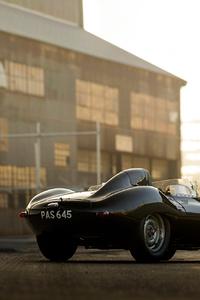 Jaguar D Type 1956 Vintage Car