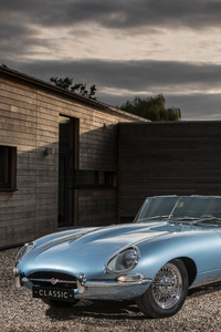 Jaguar E Type Zero 2017