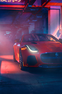 Jaguar F Type 2018 Front