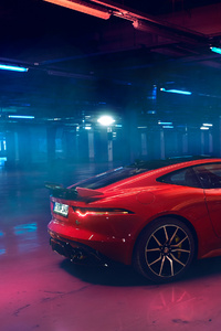 Jaguar F Type 2018 Rear