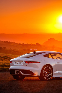 Jaguar F Type Chequered Flag 2018 Rear