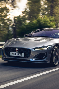 Jaguar F Type P300 Coupe First Edition 2020 4k