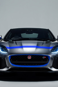 Jaguar F Type SVR Graphic Pack Coupe 2018 Front