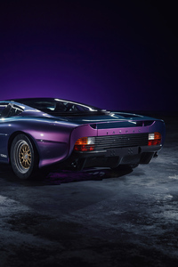 480x800 Jaguar XJ 220 Purple 4k