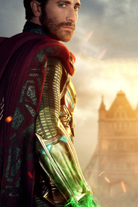 480x800 Jake Gyllenhaal As Mysterio In Spider Man Far From Home 5K
