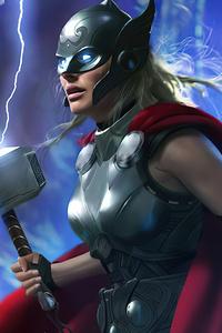 1080x1920 Jane Foster Thor 2021 4K