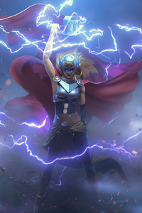 Jane Foster Thor 4K