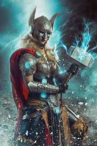 Jane Foster With Hammer