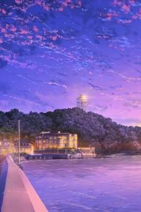 Japan Anime Sky 4k
