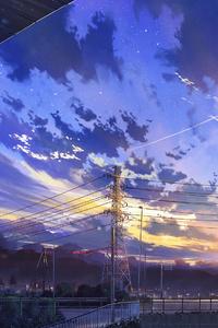 750x1334 Japan City Digital Art