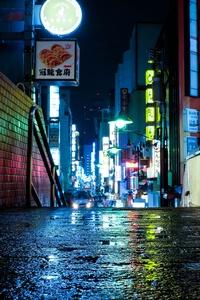 Japan Tokyo Urban Lights Neon 5k