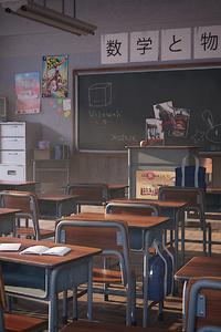 320x568 Japanese Classroom 4k