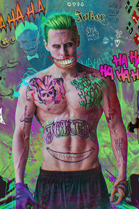 1125x2436 Jared Leto Joker Damaged 4k