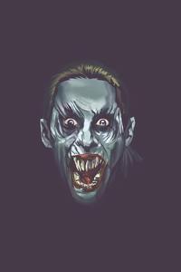 1125x2436 Jared Leto Joker Minimal 4k
