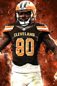 240x320 Jarvis Landry National Football League Player