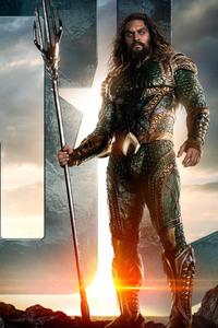 240x400 Jason Momoa As AQUAMAN In Justice League